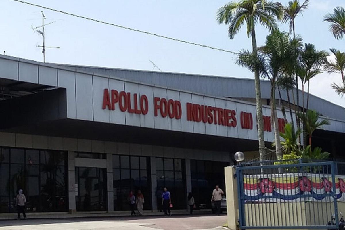完成消毒 阿波罗食品新山厂恢复运作